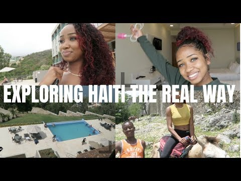 HAITI VLOG PART ONE | dymondheartsbeauty