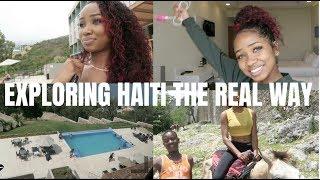 HAITI VLOG PART ONE | dymondheartsbeauty