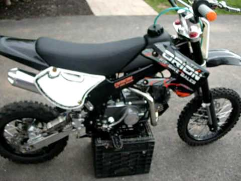 orion pit bike 125cc youtube