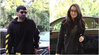 Aditya Roy Kapur & Shraddha Kapoor Travel To Chandigarh For Ok Jaanu Promotions
