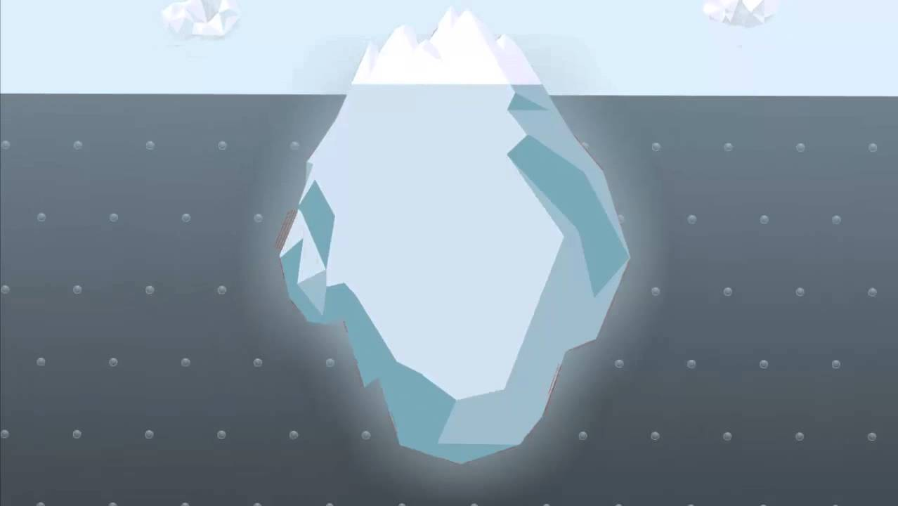 hemingway iceberg principle the video marketing iceberg make high  the video marketing iceberg make high quality video for less the video marketing iceberg make high