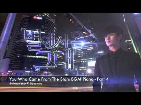 You Who Came From The Stars BGM Piano Cover - Part 4 (Tears In Minuet)