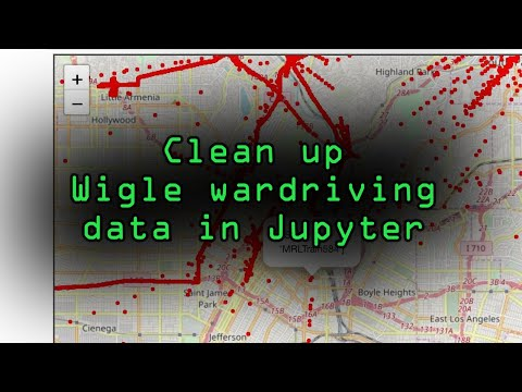 Clean & Map Wigle Wardriving Data In Jupyter Notebook [Tutorial]
