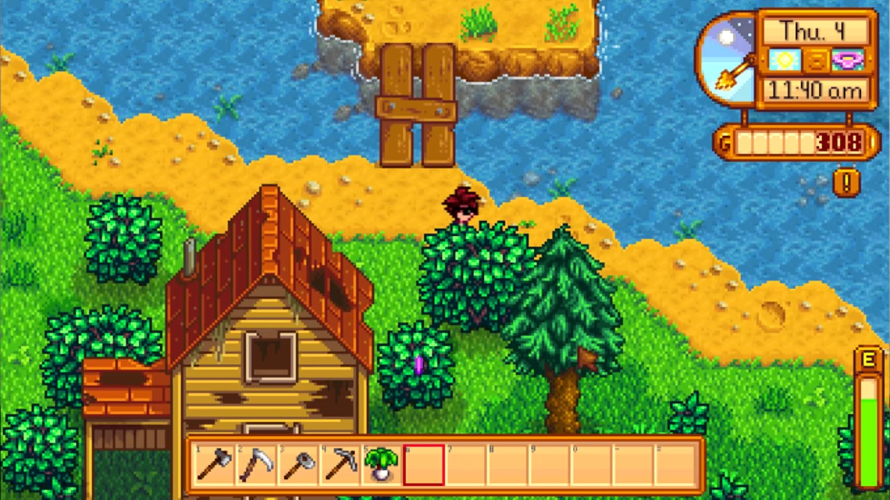 how to get infinite wood stardew valley