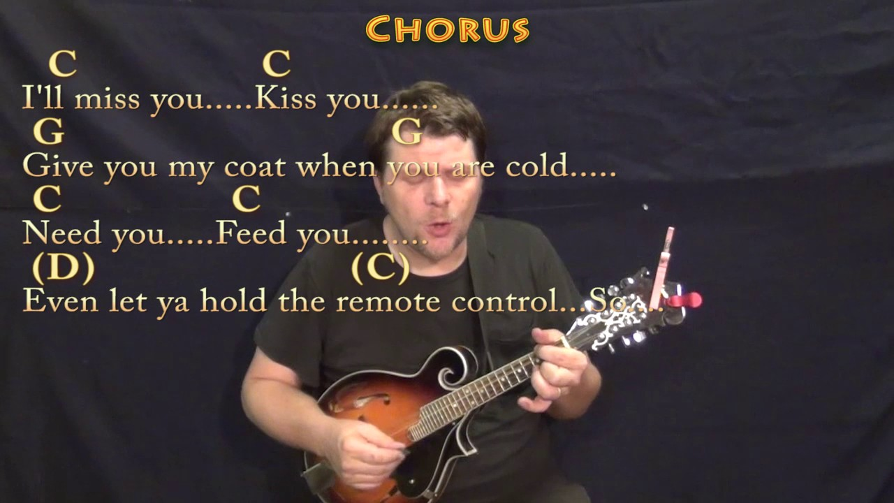 Grow Old With You Adam Sandler Mandolin Cover Lesson In G With