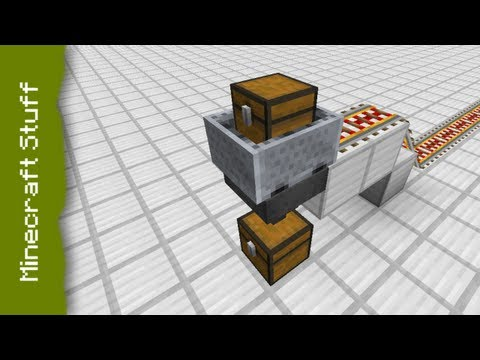 how to make a hopper system in minecraft