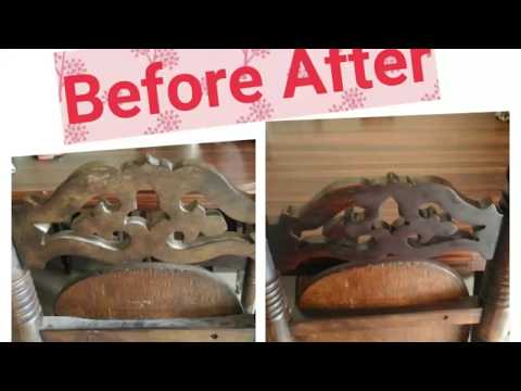 How to clean wooden furniture easily | Wood furniture polish | varnish wood
