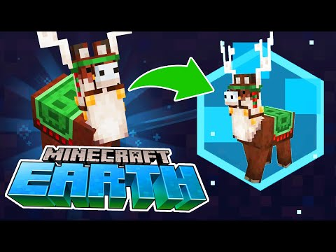 FAST AND EASY JOLLY LLAMA IN MINECRAFT EARTH! How to Get a Jolly Llama Event Mob in Minecraft Earth