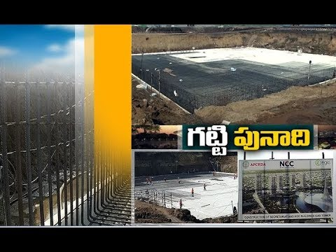 Construction of Secretariat Towers | Works Are Going on Full Swing | Amaravati