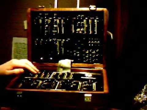 DIY Analog Synthesizer Demonstration - YouTube