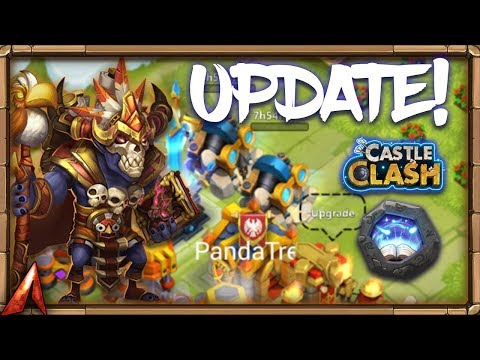 LOVE This Update! WallWalla Devo! Castle Clash