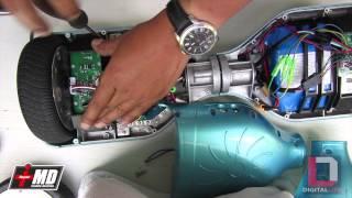Smart Balance board wheel replacement
