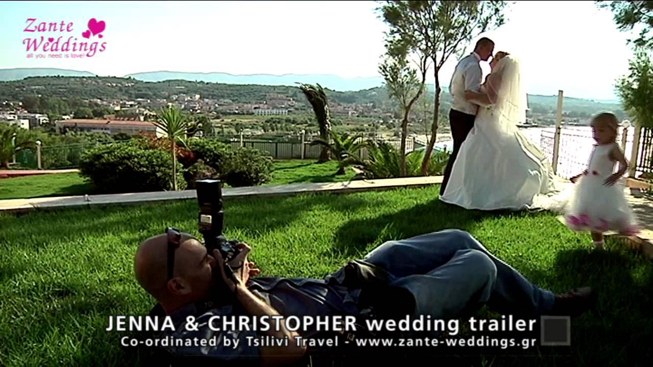 Jenna christopher balcony wedding zante weddings by for The balcony zante
