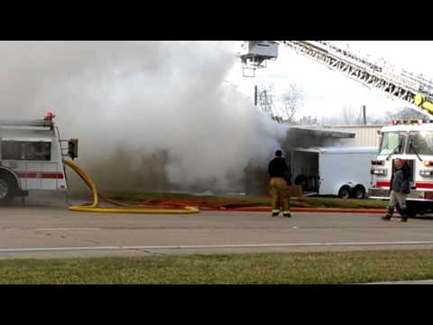 Local fire in La Porte, Tx