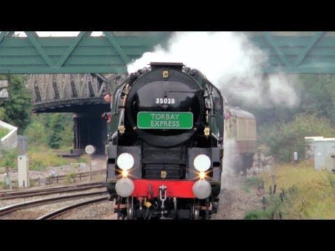 Thumbnail: 35028 'Clan Line' Hauling Its First Torbay Express - 20/08/17