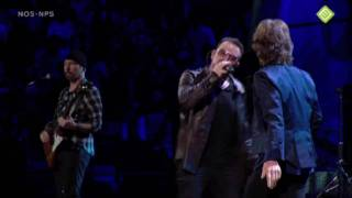 Mick Jagger & U2 - 'Stuck in a Moment' Hall of Fame 2009