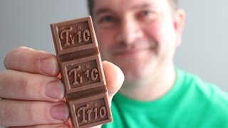 Bring Back The Trio! Chocolate Bar With A Little 3D Printing Help