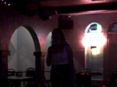 Cheri Romero singing Drift Away at T2 Trinos