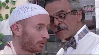 النمس : ( خلثنا من بخ الدبان جينا عكث الدبان) باب الحارة  الحلقة 22 مشهد3 مصطفى الخاني
