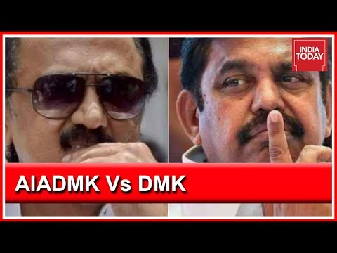 Election Battle In Tamil Nadu: AIADM And DMK Contesting On 20 Seats In 8 Cities