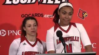 WBB: Mariya Moore & Briahanna Jackson Postgame Interview