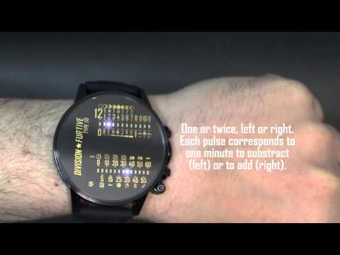 [Video Instruction Manual 1/5] Division Furtive Type 50 Watch - Basic Operation
