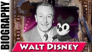 American Cartoonist Walt Disney - Biography and Life Story