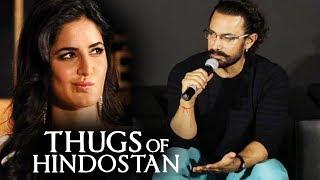 Aamir Khan Reaction On Katrina Upset On Her Role In Thugs Of Hindostan