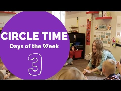 Best Engaging Circle Time Days of the Week