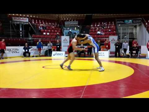 2016 Canadian Junior Championships: 74 kg Jake Michaelis vs. Devin Purewal