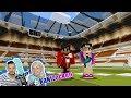 MINECRAFT WAR: Kaan vs Nina im Überlebenskampf im riesigen Stadion! Wer stirbt als erstes?