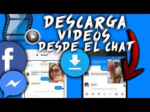 Como DESCARGAR VIDEOS Desde El CHAT De FACEBOOK (Messenger) - SIN PROGRAMAS - FÁCIL!