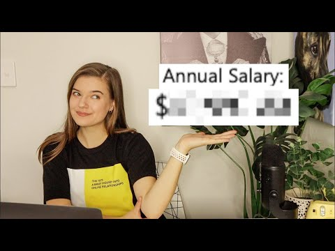 How Much I Make as a Marketing Coordinator - SALARY REVEAL