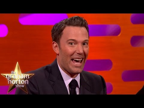 Ben Affleck's Son Had The Best Superhero Party Ever - The Graham Norton Show