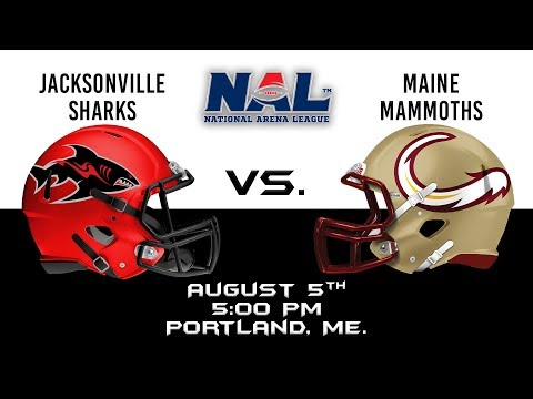 Jacksonville Sharks vs Maine Mammoths
