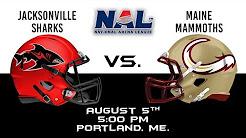 Jacksonville Sharks vs Maine Mammoths