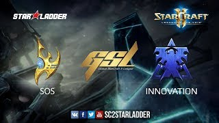 2017 GSL S3 Final: sOs (P) vs INnoVation (T)