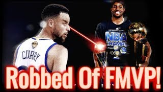 Why Stephen Curry Deserved The 2015 Finals MVP!