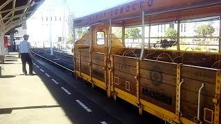 JR四国 宇和島駅 キハ54しまんトロッコ 発車位置に小移動