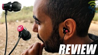 Brainwavz Delta Red Earbuds Noise Isolating Earphones with Headset REVIEW