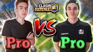 SOKÓŁ VS BLOODY DAVE! PRO VS PRO! CLASH ROYALE POLSKA