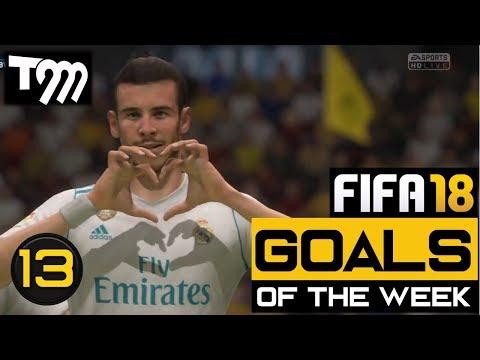Fifa 18 - TOP 10 GOALS OF THE WEEK #13