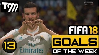 Fifa 18 - TOP 10 GOALS OF THE WEEK #13