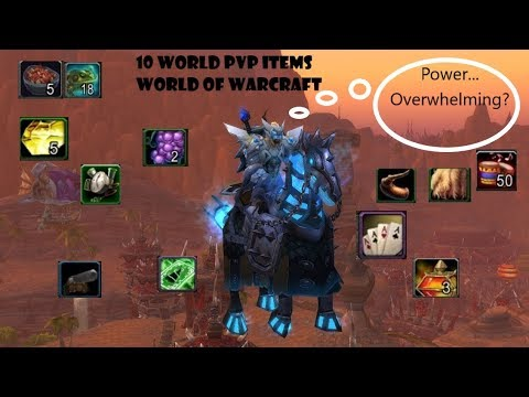 10 World PvP items in WoW you might not know about