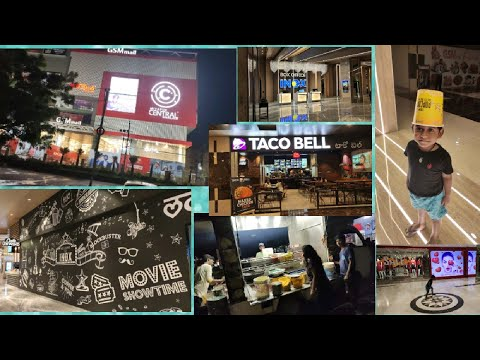 Evening Vlog // GSM mall // Miyapur Central // Road side dinner