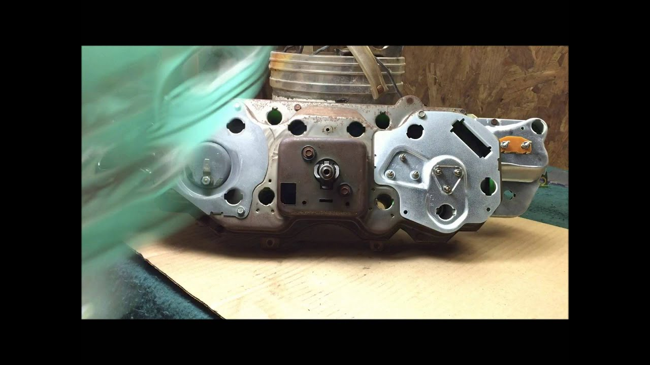 70 72 Chevelle Dummy Light Cluster Conversion To Ss Tach