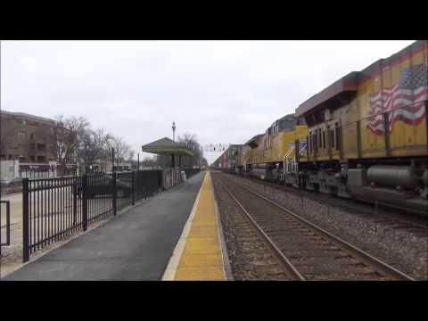 [HD] Railfanning Glen Ellyn, IL with TheBoeingRailroader