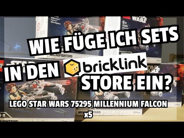 Lego-Sets in BrickLink einfügen? So mach ich das! | Part-Out #01
