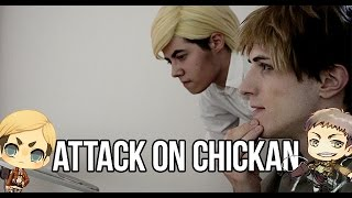 Attack on Chickan - SnK Live Cosplay