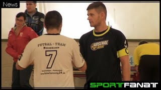 Futsal-Team Neuenhagen gegen Arsenal Berlin - Spielbericht mit Interviews